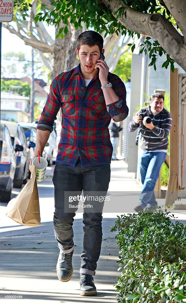 <a gi-track='captionPersonalityLinkClicked' href=/galleries/search?phrase=Nick+Jonas&family=editorial&specificpeople=842713 ng-click='$event.stopPropagation()'>Nick Jonas</a> is seen on December 10, 2013 in Los Angeles, California.