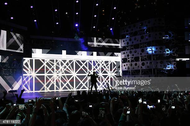 Nick Jonas performs at the 2015 Much Music Video Awards at MuchMusic on Queen Street West in Toronto June 21 2015