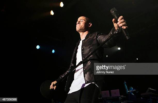 Nick Jonas performs during the Island Records Island Life Concert at Best Buy Theater on September 8 in New York City