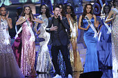 Nick Jonas performs onstage during The 63rd Annual Miss Universe Pageant at Florida International University on January 25 2015 in Miami Florida