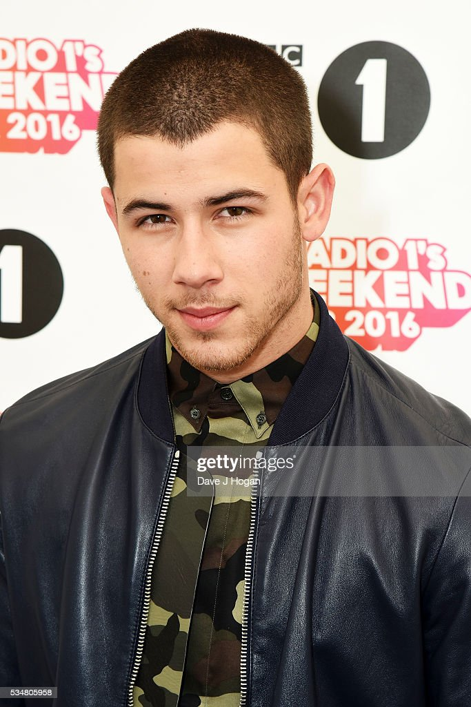 <a gi-track='captionPersonalityLinkClicked' href=/galleries/search?phrase=Nick+Jonas&family=editorial&specificpeople=842713 ng-click='$event.stopPropagation()'>Nick Jonas</a> poses for a photo during day 1 of BBC Radio 1's Big Weekend at Powderham Castle on May 28, 2016 in Exeter, England.