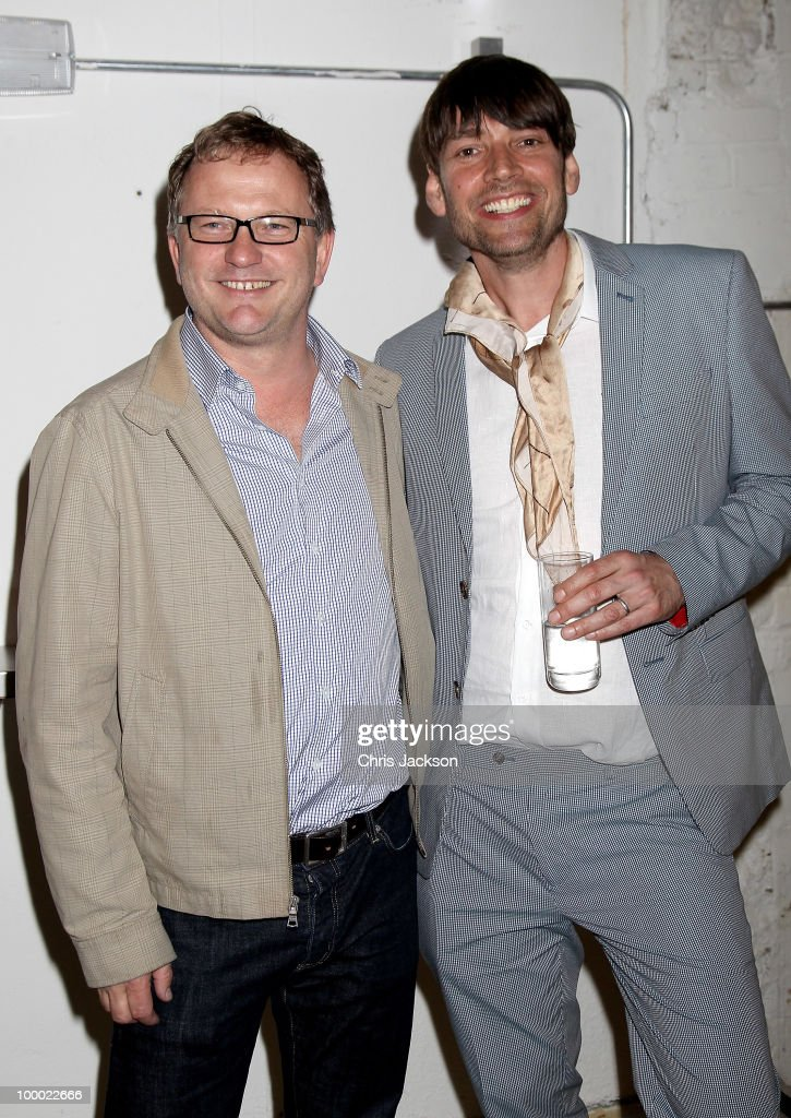 Nick Jones and Alex James attend the opening of the new East London Aubin & Wills building in association with Shoreditch House on May 20, 2010 in London, England. The concept store, cinema and gallery space (curated by Stuart Semple) occupies 7500 square feet and launches tonight.