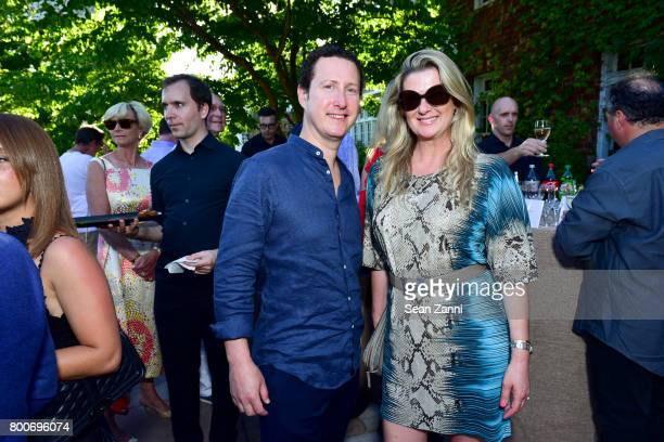 Nick Judson and Ana Judson attend Maison Gerard Presents Marino di Teana A Lifetime of Passion and Expression at Michael Bruno and Alexander...
