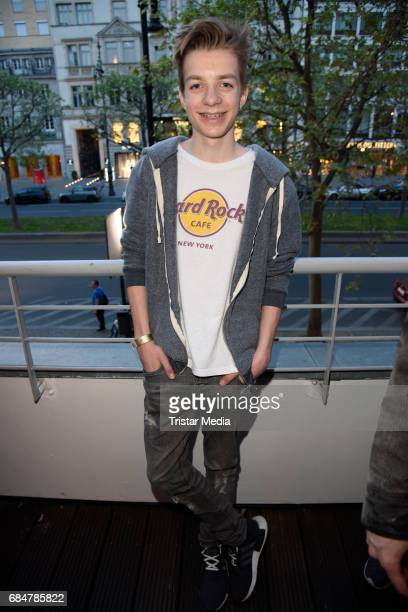 Nick Julius Schuck attends the 25th anniversary celebration at Hard Rock Cafe Berlin on May 18 2017 in Berlin Germany