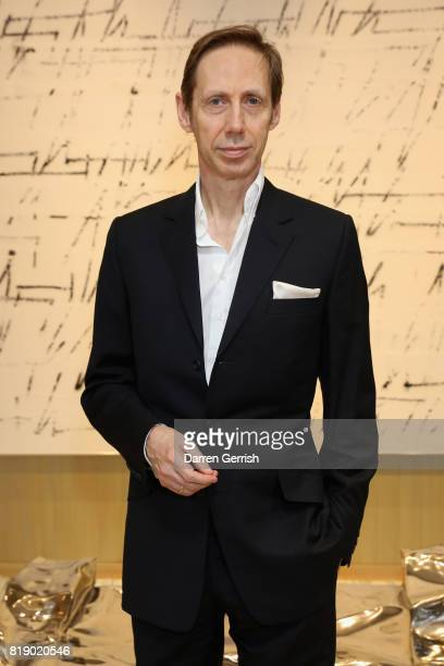 Nick Knight attends the Dior cocktail party to celebrate the launch of Dior Catwalk by Alexander Fury on July 19 2017 in London England