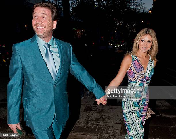 Nick Knowles and Jessica Rose Moor sighting on April 17 2012 in London England