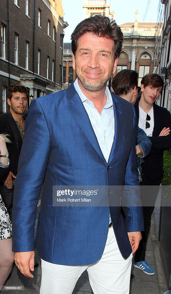 <a gi-track='captionPersonalityLinkClicked' href=/galleries/search?phrase=Nick+Knowles&family=editorial&specificpeople=776832 ng-click='$event.stopPropagation()'>Nick Knowles</a> attending the Retro Feasts launch party on June 5, 2013 in London, England.