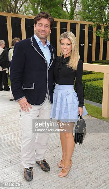 Nick Knowles attends the Chelsea Flower Show press and VIP preview day at Royal Hospital Chelsea on May 20 2013 in London England