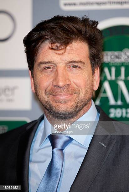 Nick Knowles attends The Motor Sport Hall Of Fame at The Royal Opera House on February 25 2013 in London England