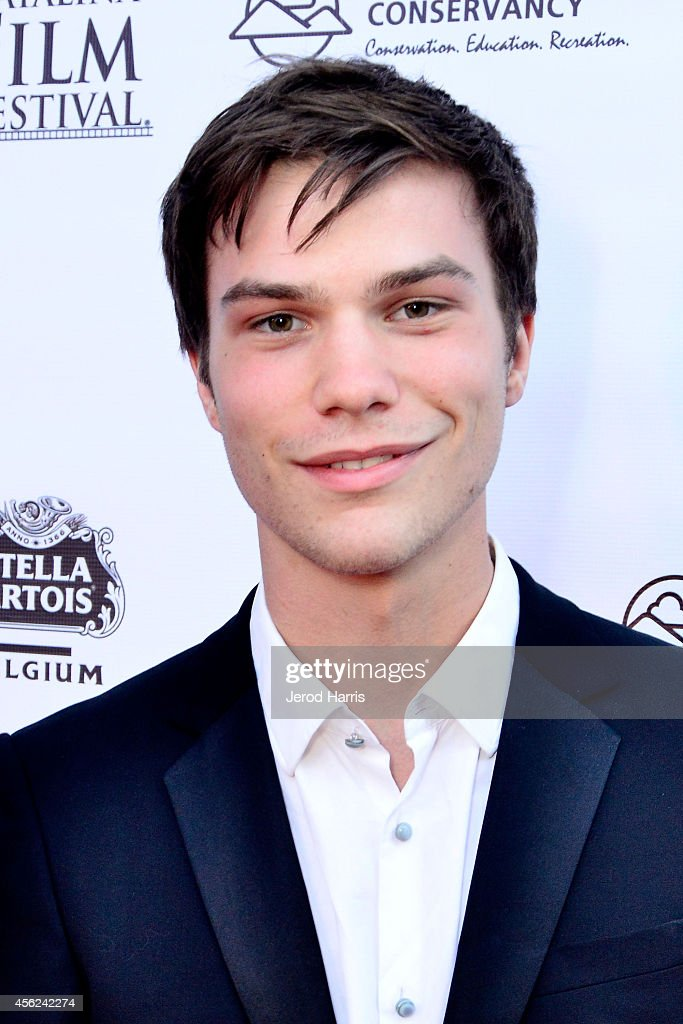 <a gi-track='captionPersonalityLinkClicked' href=/galleries/search?phrase=Nick+Krause&family=editorial&specificpeople=8221992 ng-click='$event.stopPropagation()'>Nick Krause</a> arrives at the 2014 Catalina Film Festival Premiere of 'Rudderless' on September 27, 2014 in Catalina Island, California.
