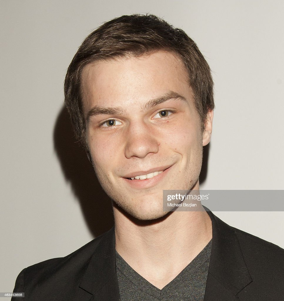 <a gi-track='captionPersonalityLinkClicked' href=/galleries/search?phrase=Nick+Krause&family=editorial&specificpeople=8221992 ng-click='$event.stopPropagation()'>Nick Krause</a> attends 'White Rabbit' Los Angeles Premiere - A Bullying Prevention Initiative at Laemmle's Music Hall 3 on February 13, 2015 in Beverly Hills, California.