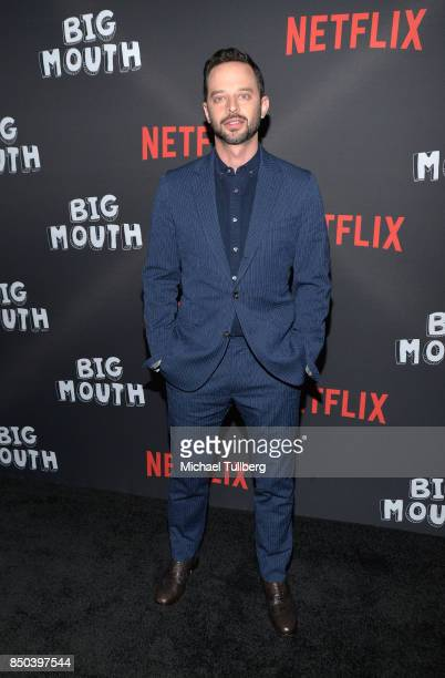 Nick Kroll arrives at the premiere of Netflix's 'Big Mouth' at Break Room 86 on September 20 2017 in Los Angeles California