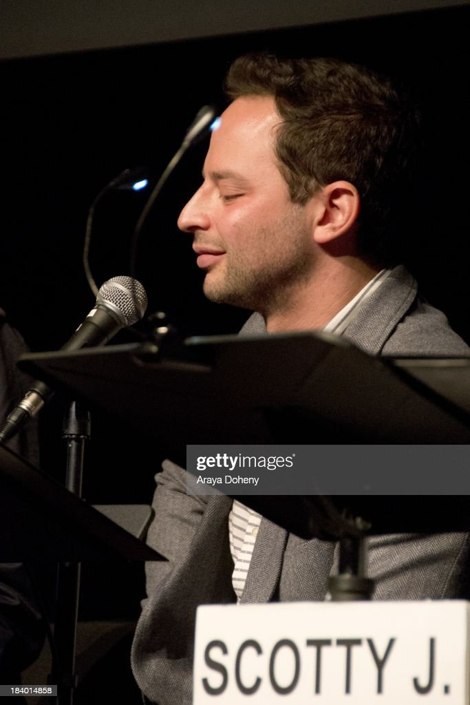 Nick Kroll at the Film Independent at LACMA - 'Boogie Nights' live read directed by Jason Reitman at Bing Theatre At LACMA on October 10, 2013 in Los Angeles, California.