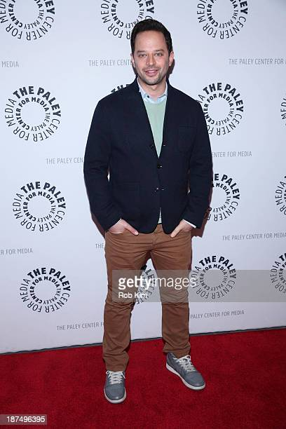 Nick Kroll attends 2013 Paley Center For Media Presents 'New York Comedy Festival Oh Hello Kroll Show' at Paley Center For Media on November 9 2013...