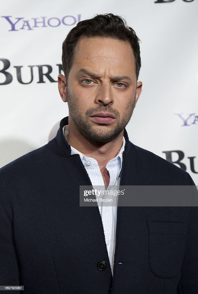<a gi-track='captionPersonalityLinkClicked' href=/galleries/search?phrase=Nick+Kroll&family=editorial&specificpeople=4432339 ng-click='$event.stopPropagation()'>Nick Kroll</a> attends the 'Burning Love' season 2 premiere at Paramount Theater on the Paramount Studios lot on February 5, 2013 in Hollywood, California.