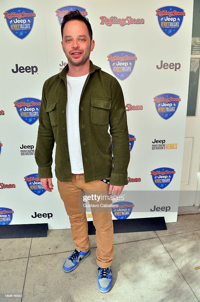 <a gi-track='captionPersonalityLinkClicked' href=/galleries/search?phrase=Nick+Kroll&family=editorial&specificpeople=4432339 ng-click='$event.stopPropagation()'>Nick Kroll</a> attends the Rolling Stone Hosted Jeep Heroes Tailgate on February 3, 2013 in New Orleans, Louisiana.
