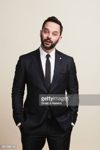 Nick Kroll poses for portrait session at the 2017 Film Independent Spirit Awards on February 25 2017 in Santa Monica California