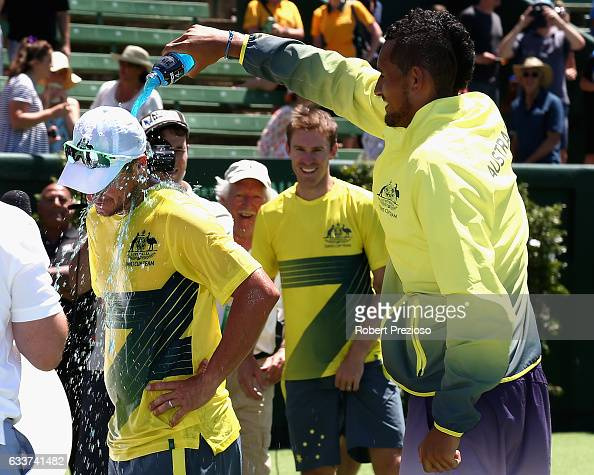 Davis Cup World Group First Round - Australia v Czech Republic : News Photo