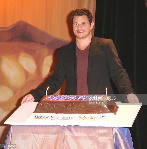 Nick Lachey 33rd Birthday Snickers Celebration Cake