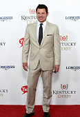 Nick Lachey attends the 141st Kentucky Derby at Churchill Downs on May 2 2015 in Louisville Kentucky