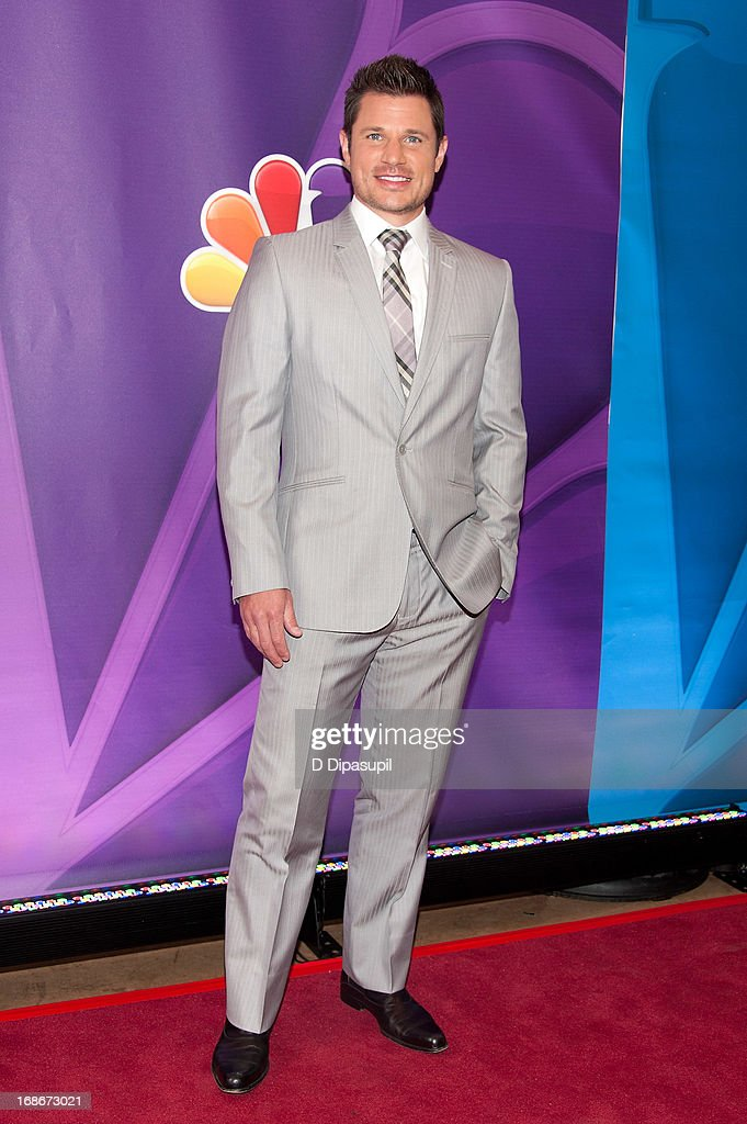 Nick Lachey attends the 2013 NBC Upfront Presentation Red Carpet Event at Radio City Music Hall on May 13, 2013 in New York City.