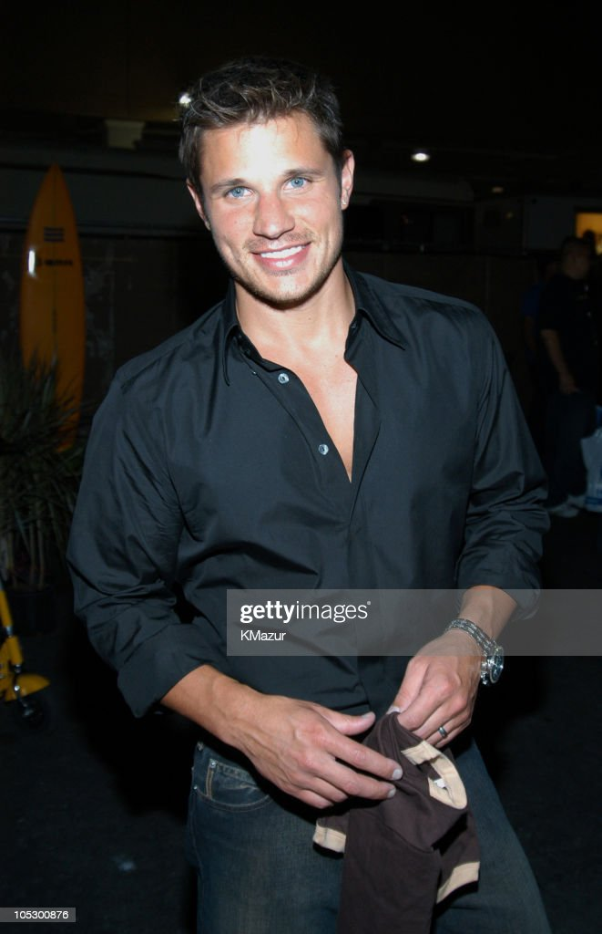 <a gi-track='captionPersonalityLinkClicked' href=/galleries/search?phrase=Nick+Lachey&family=editorial&specificpeople=201832 ng-click='$event.stopPropagation()'>Nick Lachey</a> during 2003 Radio Music Awards - Arrivals and Backstage at The Aladdin Hotel and Casino in Las Vegas, Nevada, United States.