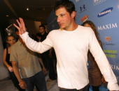 Nick Lachey during Hotel De Maxim Party for Super Bowl XLI Inside at Sagamore Hotel in Miami Beach Florida United States