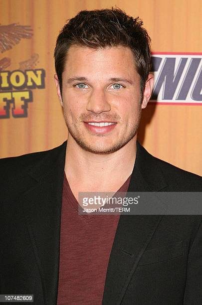 Nick Lachey during Nick Lachey Hits House of Blues and Crowns National Winner in Snickers 'Satisfaction SingOff' Contest at House of Blues in Los...