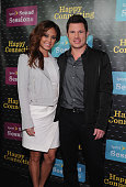 Nick Lachey Vanessa Minnillo Lachey of VH1 Big Morning Buzz arrive at Sprint Sound Sessions at Webster Hall on April 29 2014 in New York City
