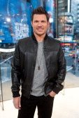 Nick Lachey visits 'Extra' at their HM Studio in Times Square on February 27 2014 in New York City