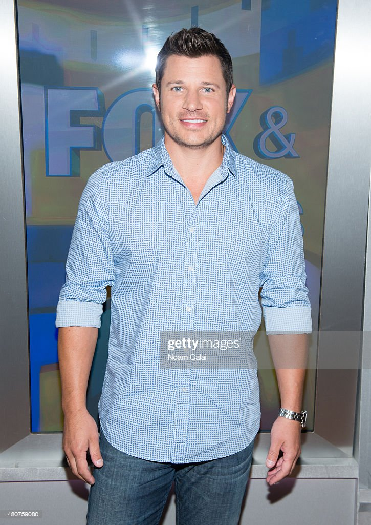 "Nick Lachey Visits ""Fox & Friends"""