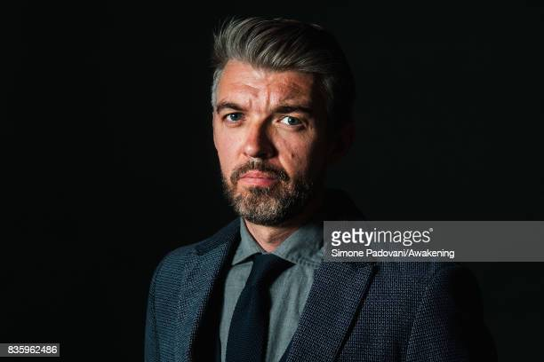 Nick Laird attends a photocall during the Edinburgh International Book Festival on August 20 2017 in Edinburgh Scotland