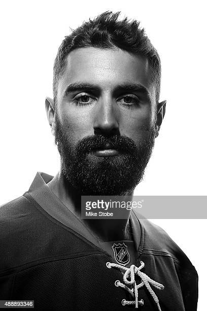 Nick Leddy of the New York Islanders poses for a portrait on September 17 2015 at the Nassau Coliseum in Uniondale New York