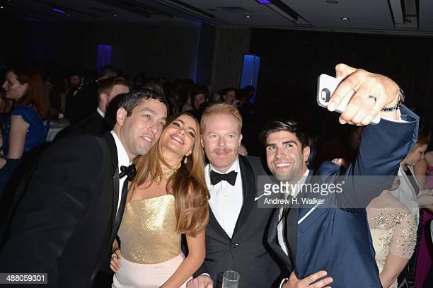 Nick Loeb Sofía Vergara Jesse Tyler Ferguson and Justin Mikita attend the Yahoo News/ABCNews PreWhite House Correspondents' dinner reception preparty...