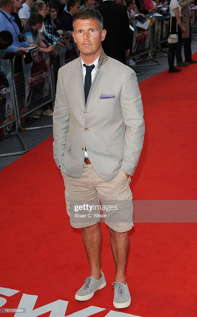 Nick Love attends The Sweeney UK Film Premiere at Vue Leicester Square on September 3 2012 in London England