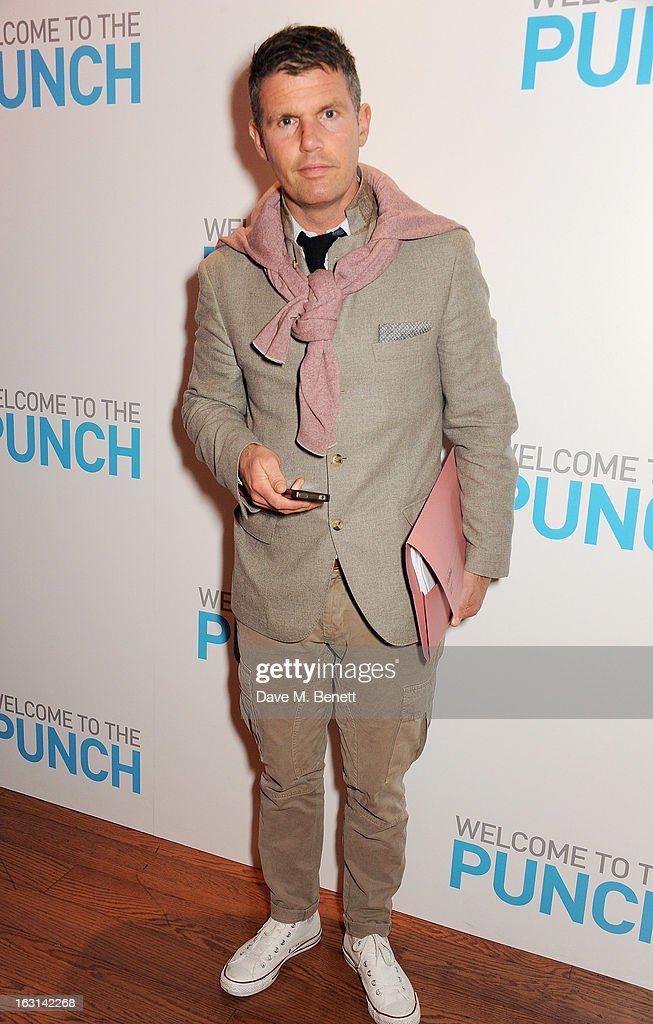 Nick Love attends the UK Premiere of 'Welcome To The Punch' at the Vue West End on March 5, 2013 in London, England.