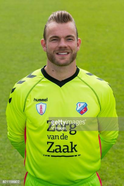 Nick Marsman during the team presentation of FC Utrecht on July 22 2017 at Sportcomplex Zoudenbalch in Utrecht The Netherlands