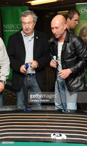 Nick Mason and guest attend NSPCC's charity event launch of 'The Circuit' at the ING Building on May 28 2009 in London England