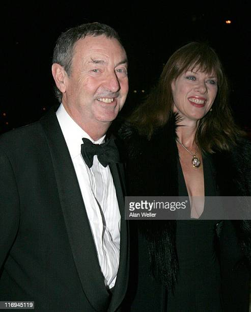 Nick Mason and guest during Angels Ball Arrivals Novemer 7 2005 at The Carlton Tower Hotel in London Great Britain
