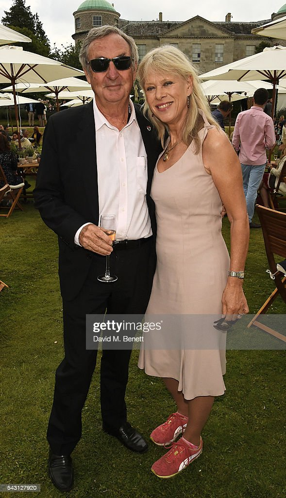 <a gi-track='captionPersonalityLinkClicked' href=/galleries/search?phrase=Nick+Mason&family=editorial&specificpeople=221394 ng-click='$event.stopPropagation()'>Nick Mason</a> and Nettie Mason attend The Cartier Style et Luxe at the Goodwood Festival of Speed at Goodwood on June 26, 2016 in Chichester, England.