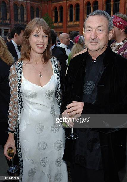 Nick Mason and wife Annette Mason during The Biba Ball After Party Inside at Victoria Albert Museum in London Great Britain