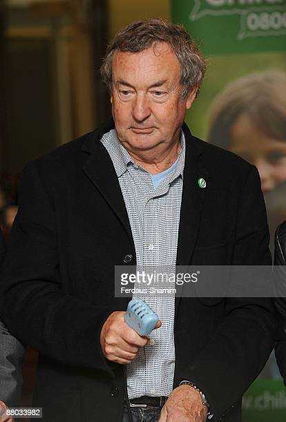 Nick Mason attends NSPCC's charity event launch of 'The Circuit' at the ING Building on May 28 2009 in London England