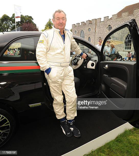Nick Mason attends the Fiat 500 by Gucci VIP Lounge at the Festival Of Speed at Goodwood on July 2 2011 in Chichester England