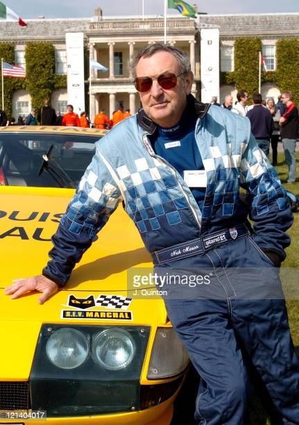 Nick Mason during Goodwood Festival of Speed Press Launch at Chichester in Chichester Great Britain