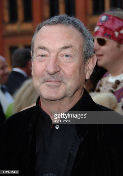 Nick Mason during The Biba Ball After Party Inside at Victoria Albert Museum in London Great Britain