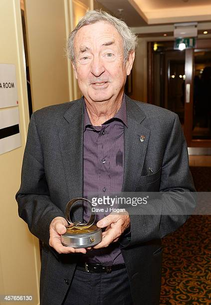 Nick Mason of Pink Floyd winner of the Q Classic Album award for 'Dark Side Of The Moon' at the Xperia Access Q Awards at The Grosvenor House Hotel...