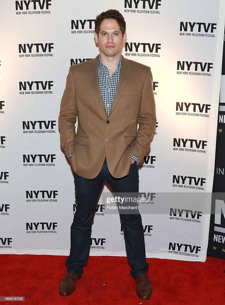 Nick Mathews attends 'In Between Men' Series Screening - 9th Annual New York Television Festival at Tribeca Cinemas on October 21, 2013 in New York City.
