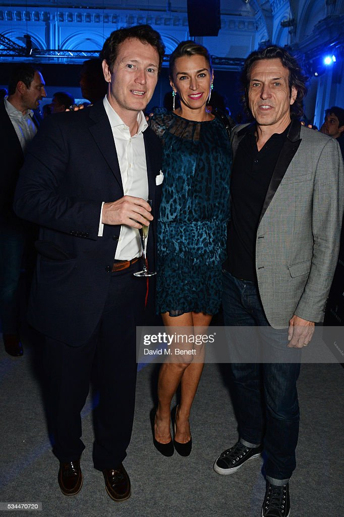 <a gi-track='captionPersonalityLinkClicked' href=/galleries/search?phrase=Nick+Moran&family=editorial&specificpeople=221364 ng-click='$event.stopPropagation()'>Nick Moran</a>, Anastasia Webster and Stephen Webster attend the UK VIP reveal of the Maserati Levante SUV at The Royal Horticultural Halls on May 26, 2016 in London, England.