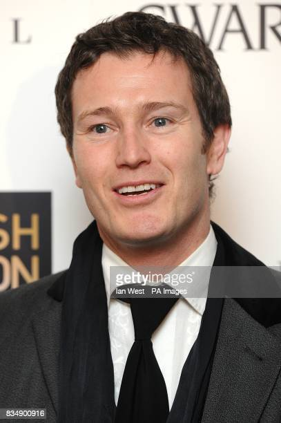 Nick Moran arrives for the 2008 British Fashion Awards at the Royal Horticultural Hall 80 Vincent Square London