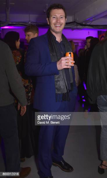 Nick Moran attends a private view of artist Chemical X's new exhibition 'CX300' at The Vinyl Factory on September 28 2017 in London England